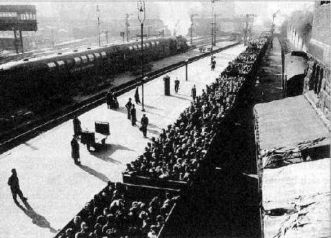 Originalbild der Bundesbahndirektion Hamburg