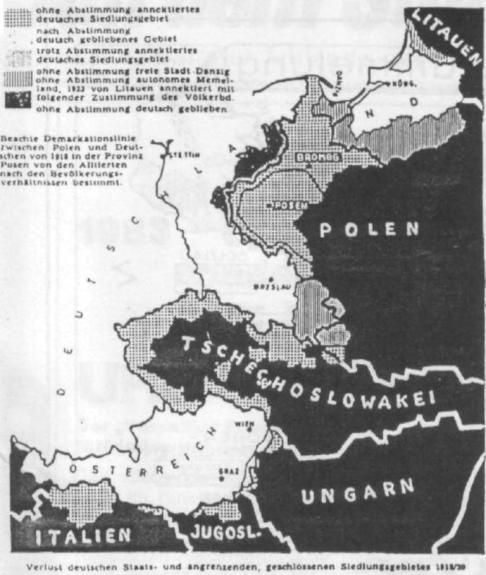 verlust deutscher gebiete