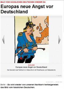 Die antideutsche Propaganda hat sich seit dem Ersten Weltkrieg nicht wesentlich weiterentwickelt.