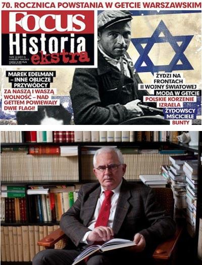 Krzysztof Jasiewicz, Professor an der Polnischen Akademie der Wissenschaften, prangerte ganz offen das menschenfeindliche Jüdische Programm an.