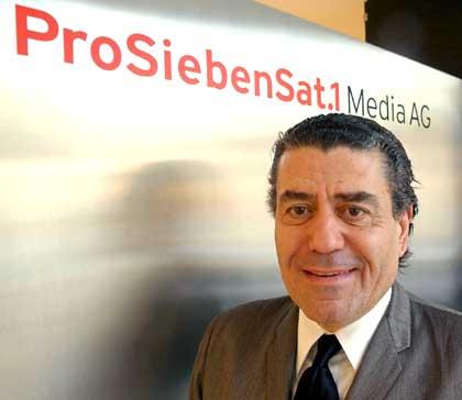 Milliardaer Saban besucht ProSiebenSat.1 Media AG