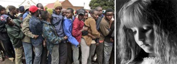 Weine, unschuldiges Deutschland, weine! Weitere 44 Millionen fremdartiger Invasoren werden in dein Land geholt. Du wirst in deiner Heimat an den Rand gedrückt, am Ende vielleicht hingemordet wie vor wenigen Jahren die Weiße Minderheit in Zimbabwe gemordet wurde. Dein Land wird zersiedelt, deine Heimat versinkt im Müll und Morast der Fremden, deine Gesundheit wird Opfer von importierten Seuchen und auf der Straße musst du täglich um dein Leben fürchten. Und wenn du in Notwehr deine Familie, deine Gesundheit, deinen Besitz, deine Zukunft, deine Heimat gegen die Fremden verteidigen willst, dann lassen dich deine Politiker einsperren. Du sollst jeden Terror, jeden Mord, jeden Raub, jeden Schmerz still erdulden. Weine, unschuldiges Deutschland, weine!
