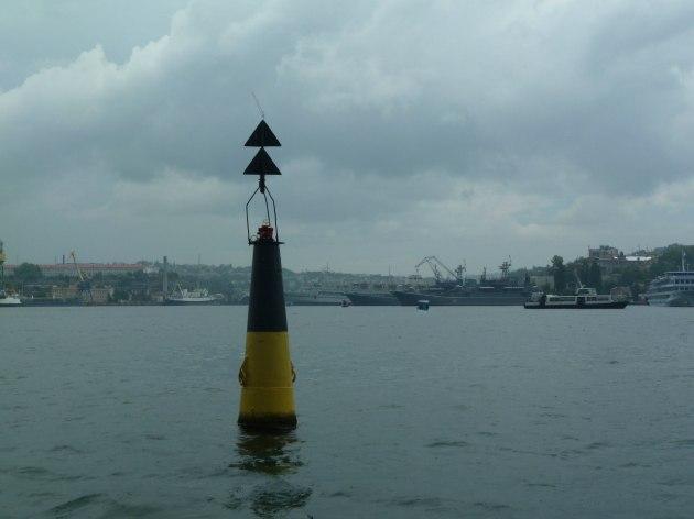 Sicht vom Meer aus
