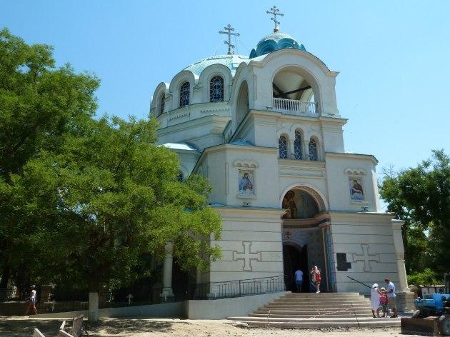Yevpatoria, das ist eine orthodoxe Kirche und genau gegenüber...siehe nächstes Foto...