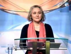 Sylvia Stolz während ihres Vortrages in Chur 2012