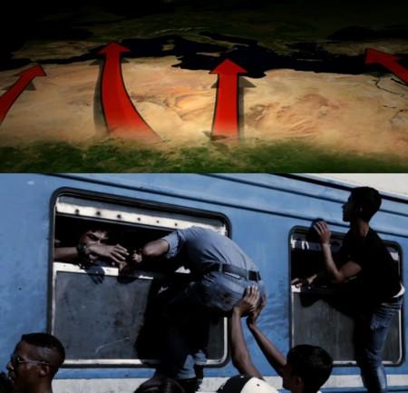 Die Konsequenz zeigt sich heute, vier Jahre später, im Jahr 2015, in einem erschreckendem Ausmaß. Sie gipfelt in dem eigentlichen Ziel des Angreifers, und das sind die von ihm hervorgebrachten Flüchtlingsströme.