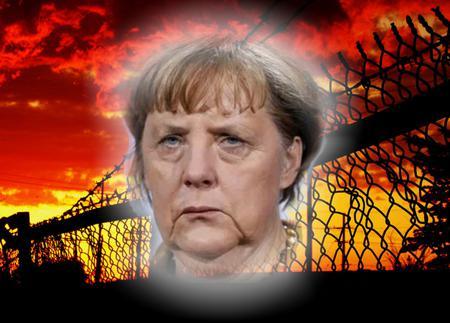 Sie wurde mit ihrer migrantiven Vernichtungspolitik gleichzeitig zur Stacheldraht-Zaun-Königin der EU!