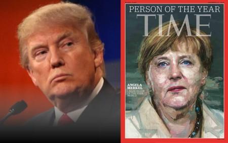 """US-Präsidentschaftskandidat Donald Trump hält in der Geschichte der USA einmalige Beliebtheitswerte und demaskierte Merkels Verbrechenspolitik schon öfter. Zu ihrer TIME-Magazin-Wahl zur """"Person des Jahres 2015"""" sagte Trump: """"Ich glaube, sie haben die Person ausgewählt, die Deutschland wirklich enormen Schaden zugefügt hat."""""""