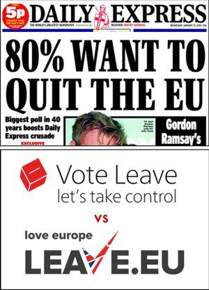 """Die Stimmung in England ist in Richtung Brexit gelenkt. Die """"EU-Lover"""" dringen nicht mehr durch."""