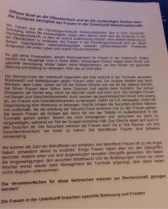 flüchtilantenbrief in perfektem Deutsch
