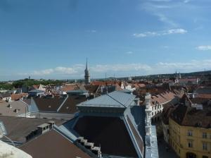 Blick über Sopron