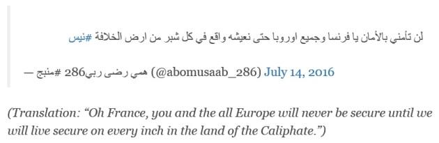 Tweet 14 Juli