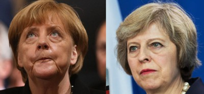 Merkel blitzt bei Theresa May ab!