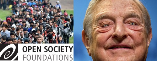 Merkels Auftraggeber, die Flutgeneratoren des Reptils George Soros (OPEN SOCIETY FOUNDATION usw), gelten in Russland als Bedrohung des Landes und sind erboten.