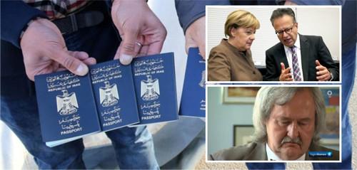 Merkel und ihre Mittäter, allen voran BAMF-Chef Weise, verweigern Generalstaatsanwalt Rautenberg 18.000 Dokumente von Eindringlingen, die mit Merkels Erlaubnis Aufenthalt und Alimentation mit Hilfe falscher Pässe ergaunert haben.