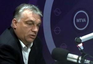 Ministerpräsident Viktor Orbán will unser authenti-schen Europa vor der Vernichtungsflut bewahren, auch unter Einsatz von Militär.