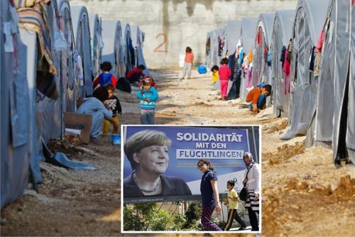 """Merkel lässt Erdogan die """"echten Flüchtlinge"""" in seinen Lagern internieren, das entspricht Merkels Ansprüchen an Menschenrechte und Humanität. In diesen Lagern will kein """"Flüchtling"""" bleiben. Wenn wir in der BRD also unsere Eindring-linge ebenfalls in von Merkel und Seehofer akzeptierten Türken-Lagern unter-bringen, käme niemand mehr zu uns und die dort untergebrachten würden sofort weiterreisen wollen. Also warum nicht auch in der BRD Türkenlager errichten, wenn diese Lager doch allen menschenrechtlichen Ansprüchen von Merkel und ihrer Bande auch in der Türkei genügen? Die Antwort ist einfach, weil sie weiterhin mit Geld, freier Verbrechensbetätigung, Rundumversorgung anlocken wollen, damit wir Deutschen auch sicher im Migrationssumpf sterben."""