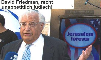 david_friedman_us_ambassador_to_israel